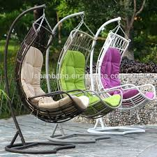 hanging egg outdoor swing chair wicker swing chair with stand hanging wicker swing chair outdoor wicker rattan freestanding hanging egg swing chair