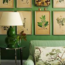 Botanical Inspired Room Schemes That Invite Florals And Foliage Into Your  Home. Green Living ...