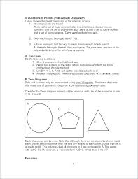 Venn Diagram Math Worksheets Worksheets On Sets And Venn Diagrams Sets And Venn Diagrams