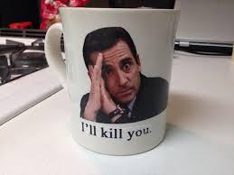the office mugs. custom the office mugs f