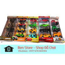 Bộ xe đồ chơi cho bé yêu Xe Disney car, Xe Tăng, Xe ô tô Jeep, Xe ô tô Car,  Siêu xe cảnh sát, Xe công trình tốt giá rẻ