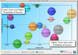 Bubble Chart Risk Management How To Prioritize Projects In Portfolio Management Bubble