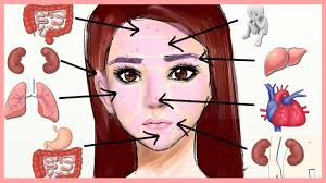 Acne Placement Chart Face Mapping What Is Your Acne Telling You