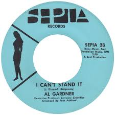 45cat - Al Gardner [Detroit] - Sweet Baby / I Can't Stand It - Sepia - USA  - SEPIA 2
