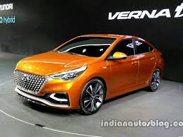 new car launches expectedIndia bound 2017 Hyundai Verna Concept showcased at Auto China