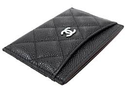 chanel card holder. chanel card case matelasse here mark caviar skin pass a31510 chanel holder