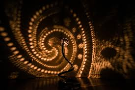 handcrafted nymphs lamps dazzle with amazing lighting patterns amazing lighting