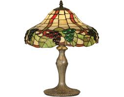 oaks lighting gs ii tiffany table lamp ot 0209 12 tl