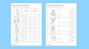 For every level, there are 12 phonics worksheets covering each skill that phonics hero teaches. Find And Write Ear Eer Ere Words Bookhogs