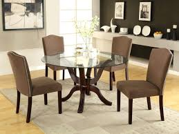 round glass dining table wood base top tables with sets medium size of kitchen oval tab