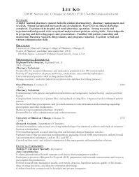 chemistry lab technician resume pharmacy technician entry level  chemistry