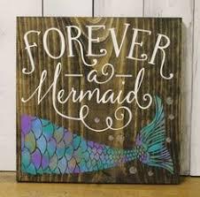 mermaid bathroom. forever a mermaid/bathroom sign/pool sign/ocean sign/navy blue/ mermaid bathroom