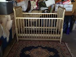 metallic gold crib we definitely just painted our identical crib exactly like this