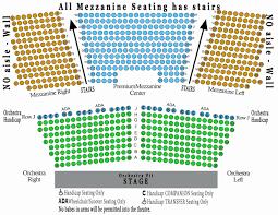 Beautiful Orpheum Theater San Francisco Seating Chart