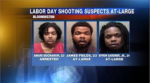 Bloomington police make arrest, searching for 2 others in Labor Day shots  fired incident