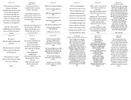 Spanish Memorial Poems