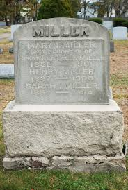 Mary Isabelle Miller (1882-1901) - Find A Grave Memorial