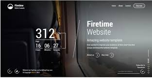 countdown templates countdown timer website template best coming soon under construction