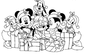 Small Picture disney christmas coloring pages free 476705 Coloring Pages for