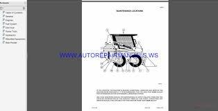 Skid Steer Size Chart Case 1840 Skid Steer Service Manual Auto Repair Manual
