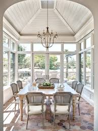 candelaria transitional morning room interesting ceilings wood clad shiplap