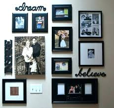 picture frame wall collage large collage frames gorgeous wall of frames wall collage frames large collage