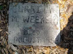 Charity Mosley Weeks (1871-1953) - Find A Grave Memorial