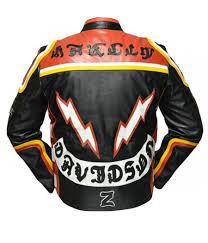 harley davidson and the marlboro man leather jacket