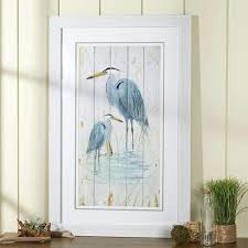 blue heron wall art great blue heron metal wall art