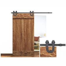 Doors: Looks Simple And Elegant Barn Door Hardware Lowes — Rebecca ...