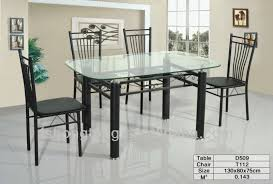 metal frame glass top dining table. metal frame glass top dining table , mainstay kitchen sets 5