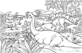 Small Picture Dinosaurs coloring page Free Printable Coloring Pages