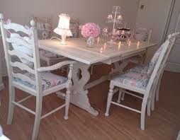 white dining table shabby chic country. Engaging Shabby Chic Dining Table And Chairs Kitchen Excellent White Country E