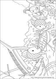 Small Picture The Rainbow Fish Coloring Book Coloring Pages