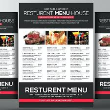 free food menu templates free menu template psd food menu templates cafe menu psd template