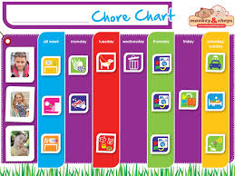 Interactive Chore Chart Family Chore Chart Helping Your Kids Take Responsibility
