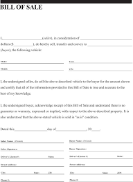 General Bill Of Sale Form Free 4 General Bill Of Sale Form Free Download
