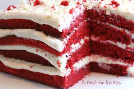 Image Texture Background The Crumb Of The Cake Definitely Had Velvet Texture Which Is Really How The Cake Got Its Name Feast For The Eyes Red Velvet Cake With White Chocolate Frosting