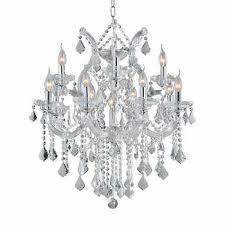 chandelier light fixtures. 13 Light Clear Crystal Chandelier Fixtures