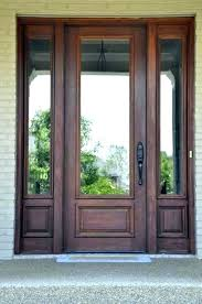 exterior door with side panels pretty entry doors glass front image sidelight coverings glas
