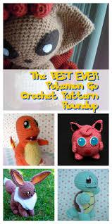 Crochet Pokemon Patterns Amazing Decorating