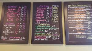 Coffee Menu Gorgeous Menu Board Picture Of The WakeUp Call Coffee House Grantsburg