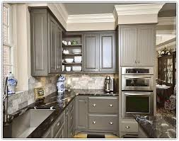 gray kitchen cabinets wall color dovetail and agreeable with carpet