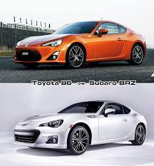 Subaru BRZ production model & Toyota 86 production model design ...