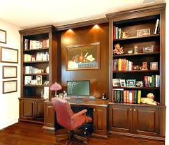 built in home office bookshelves with desk gorgeous home office bookshelves desk custom bookcases custom built