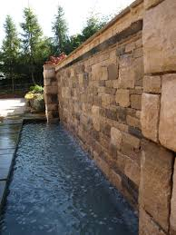 Small Picture wet wall waterfall garden water feature by Pete Sims Garden Design