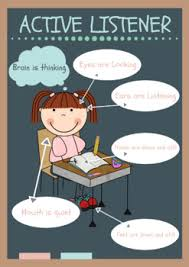 Active Listening Anchor Charts Worksheets Teaching