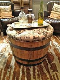 whiskey barrel table diy best creative wine barrel ideas images on tables for table cocktail
