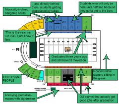 Neyland Stadium Seating Chart Syracuse Football Stadium