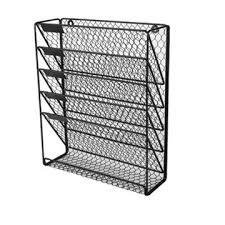 mesh wall mounted hanging file holder
